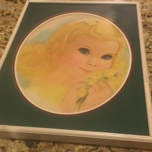 Northern Girl Francis Print Professionally framed